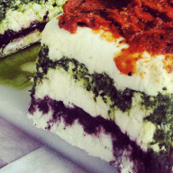 Chevre Torte from Door County Creamery.